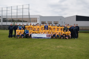 Senior Team With Club Sponsor