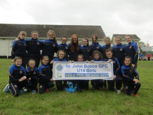 Under 14 Girls Make Club History!