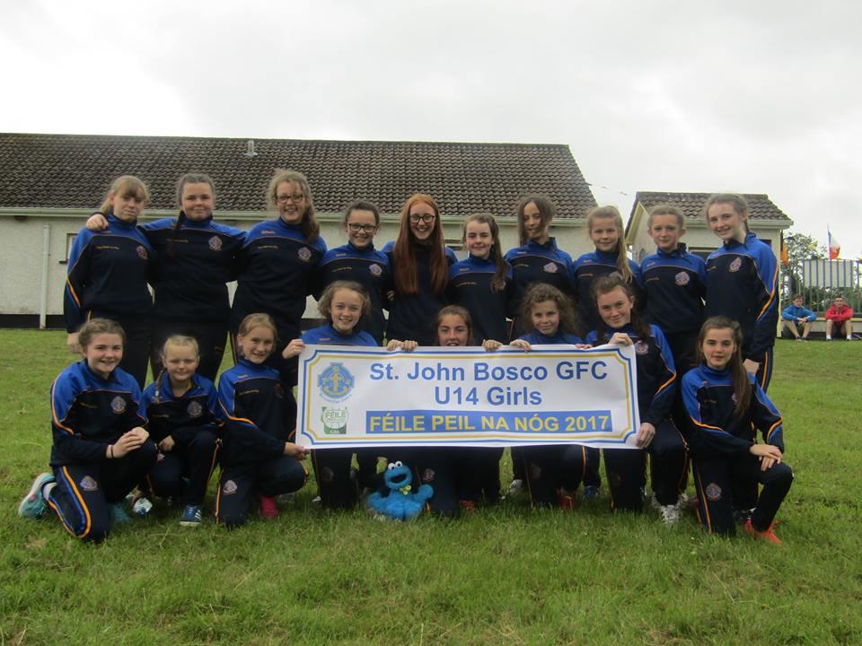 Under 14 Girls Make Club History!