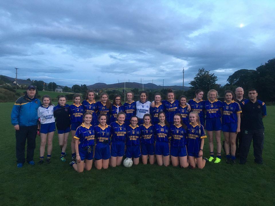 Under 16 Girls Win League