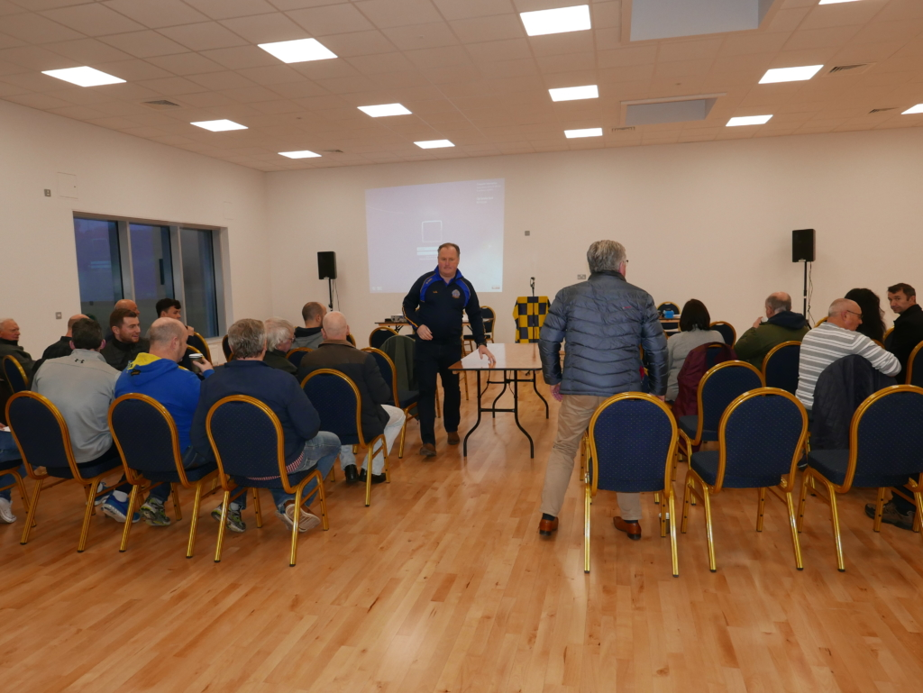 AGM In The New Clubrooms