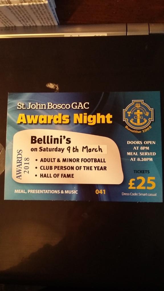 Club Awards' Night